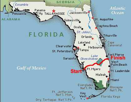 Map Of Fort Myers Florida.The Trip